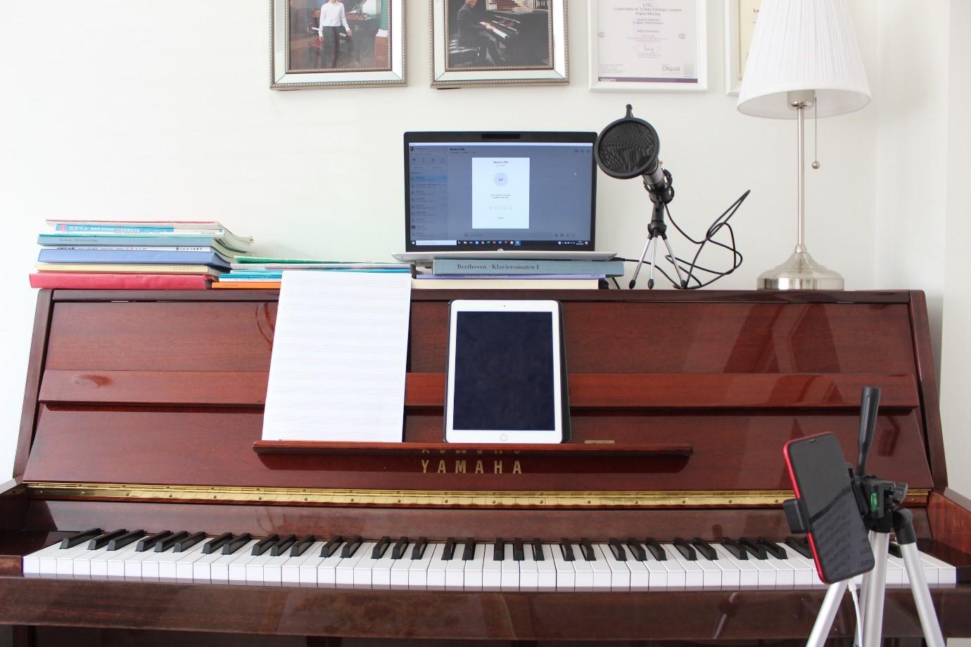 Online Piano Lessons - Summer 2020 - Jason Yang